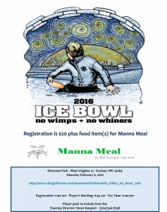 2016 Ice Bowl flyer