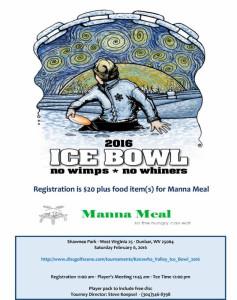 2016 Ice Bowl flyer