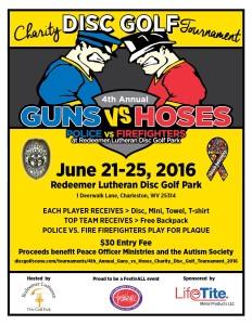 2016 Guns V Hoses Flyer
